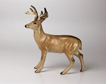 Lefton Figurine 8 Point Buck Deer - Ceramic 1321