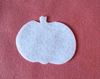 Felt Pumpkin for Wax Dipping. DIY Kits for Independent Counsultants- Parties- Accessories Decorations-Costume Embellishments