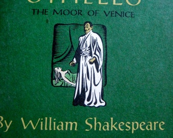 Othello by William Shakespeare 1957 paperback copy