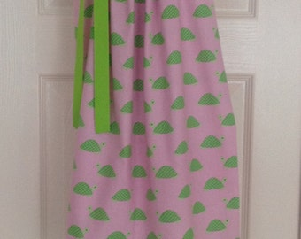 LIMITED - Preppy Turtle Dress by Cheryl's Bowtique / 2016 Seaside Collection