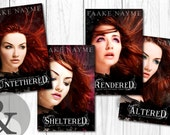 "Series Premade Digital eBook Book Cover Design Trilogy ""Magic Shifters"" Young Adult YA Girl Paranormal Teen Romance"