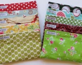 Reusable Snack Bags Any Two You Choose Fabric