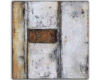 PAINTING Urban contemporary 24x24 ART on Wood by Erin Ashley