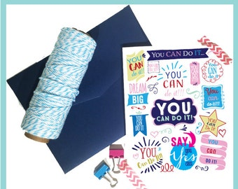 Greeting Cards -- You Can Do It Encouragement Card