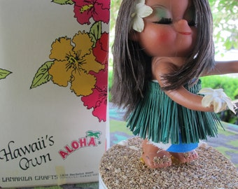 HULA girl MUSiC Box ALOHA LANAKiLA Crafts Hawaii 'Hula Hands'