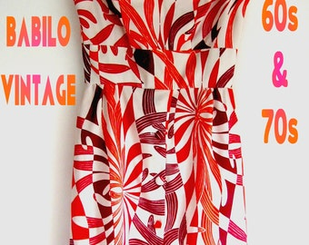 70s psychedelic long dress