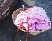 Candyfloss Handwoven Soft Pink Beach Towel