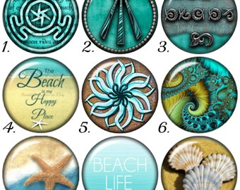 Snap charms will fit all 18-20 mm snap jewelry including Ginger Snaps. Beach Snaps,  turquoise based 20 mm Noosa chunk charms.