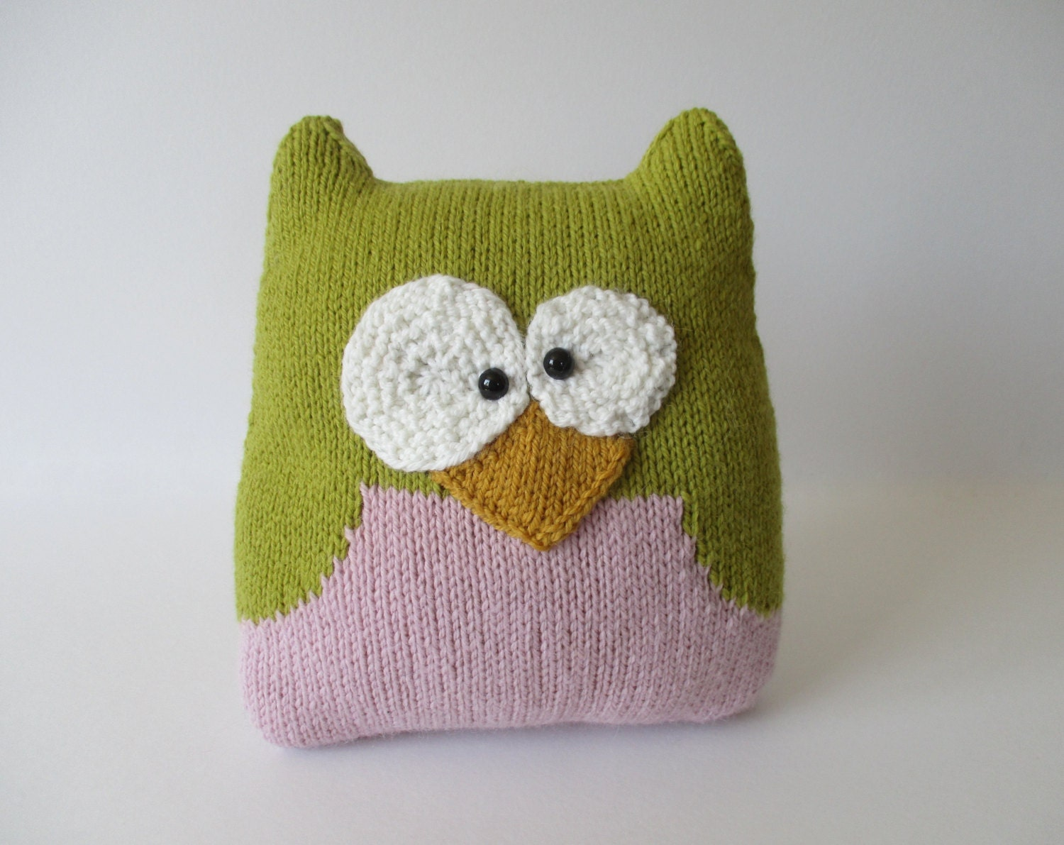 Owl Cushion Knitting Pattern : Owl Cushion Knitting Patterns