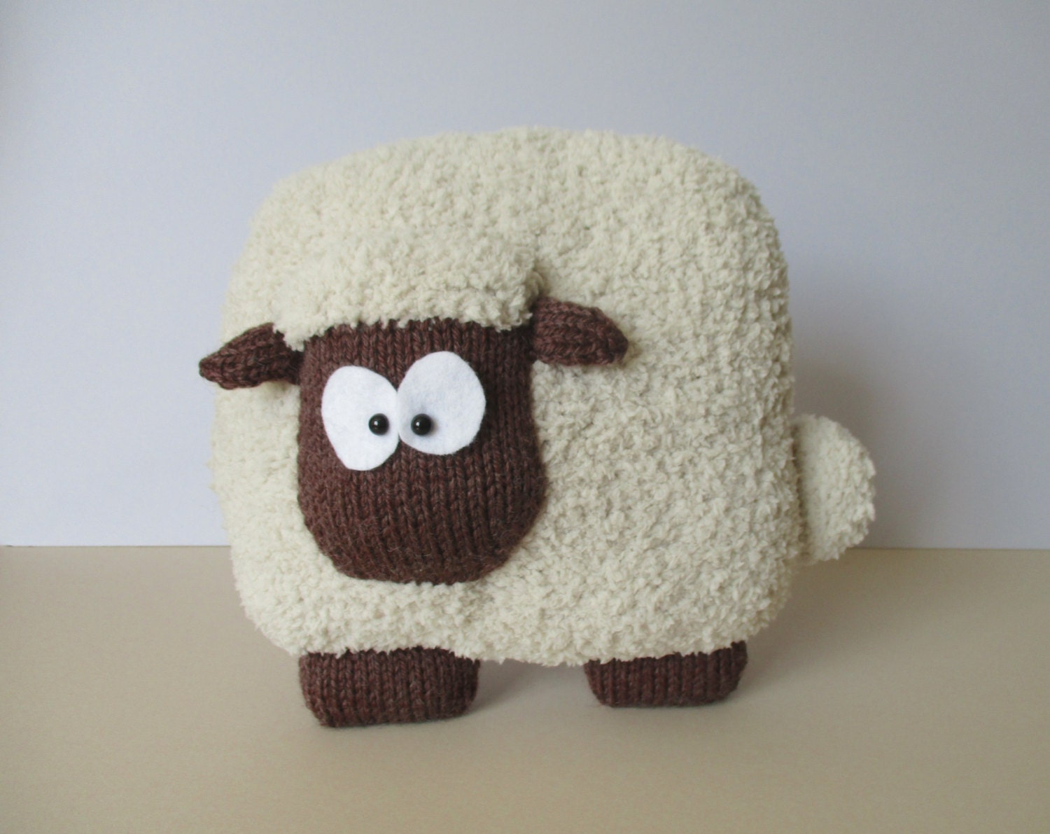 Sheep Cushion Knitting Patterns
