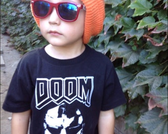 MF DOOM Toddle Shirt or One Piece printed on ultra soft ring spun cotton