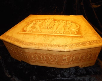 x Charming Embossed Roman Image Detailed Vintage Box (FF082015-05)