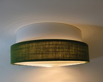 Original Mid-Century Swedish Fagerhults Ceiling Lamp New Old Stock