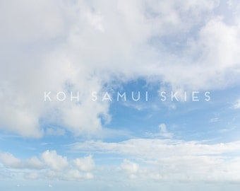 Cloudy & Blue Sky Overlay digital download