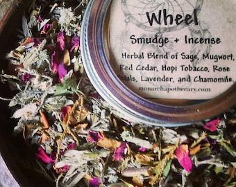 Medicine Wheel Smudge and Incense