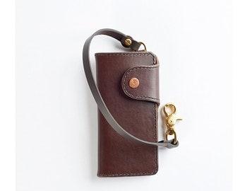 SALE Trucker Wallet: Brown