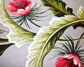 vintage barkcloth fabric - 1940s authentic barkcloth fabric 2 2/3 yards available