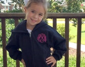 Youth Monogram Hooded Sweatshirt, Youth Full-Zip Sweatshirt, Toddler Sweatshirt, Youth Sweatshirt, Monogram Hoodie