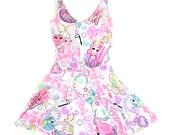 What a Girl Wants Circle Skirt Dress