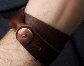 Bison Wrap Bracelet - Double wrap style