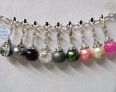 12mm Glass Bead Dangle For Floating Memory  Locket