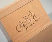 Recipe Box - Tandem Bicycle