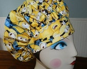 Minions   Banded Bouffant Surgical Cap by Nurseheadwear