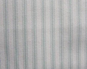 CLASSIC TICKING  Spa and White multipurpose fabric