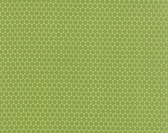 Meadowbloom Quilting Fabric from Moda - Green Sprout - 1/2 yard cut