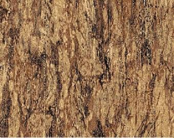 Woodland Stonehenge Tree Bark Brown Northcott Quilt Fabric by the 1/2 yard