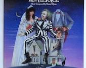 "Rare ""Beetlejuice"" Vinyl Soundtrack (1988) Danny Elfman, Harry Belafonte - Excellent Condition Condition"