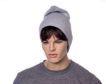 Dove Gray Phrygian Cap Liberty Hat Mens Hat Women Silver Gray Elf Pointed