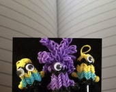 Minion pencil toppers charms zipper pulls decorations set of three