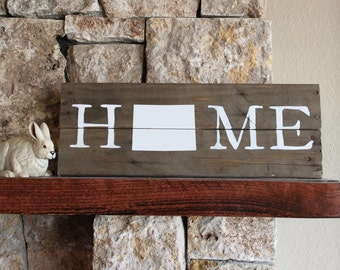 Colorado Home, Reclaimed Wood Sign, CO Sign, Colorado Artwork, Rustic Colorado Sign, Wooden Colorado , Wood Colorado Sign, CO sign, CO wood