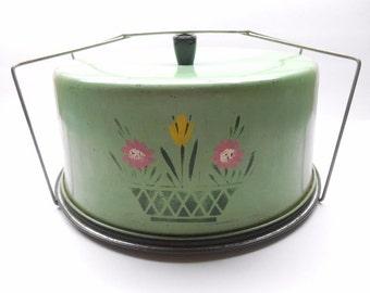 Vintage Carlton  Cake Carrier