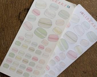 Macaroon planner stickers in various flavours, Perfect for Erin Condren, Kikki K, Plum Paper, Filofax