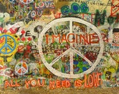 The Beatles Postcard John Lennon Imagine All You Need is Love