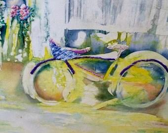 Bike and Kayak Batik
