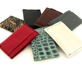 Leather Card Holder / Leather Credit Card Holder / Leather Credit Card Case / Leather Credit Card Wallet / Card Wallet / Thin Wallet