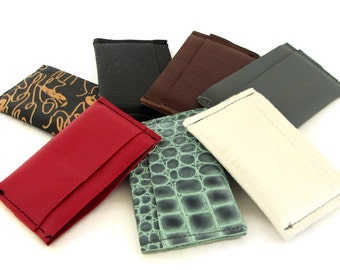 Leather Card Holder / Leather Credit Card Holder / Leather Credit Card Case / Leather Credit Card Wallet / Card Wallet