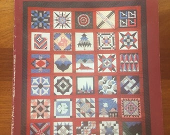 The Utah Sampler Quilts by Mormon Handicrafts, a Deseret book 1990