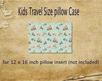 Pillowcase, Travel size pillowcase, Hello bear pillowcase, Kids pillowcase, Bears Pillowcase,