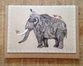 Tusk // Greeting Card