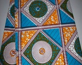 Julius Holland Dutch Wax print African fabric per yard/ Wax print online, African fabric supplies/ African clothing