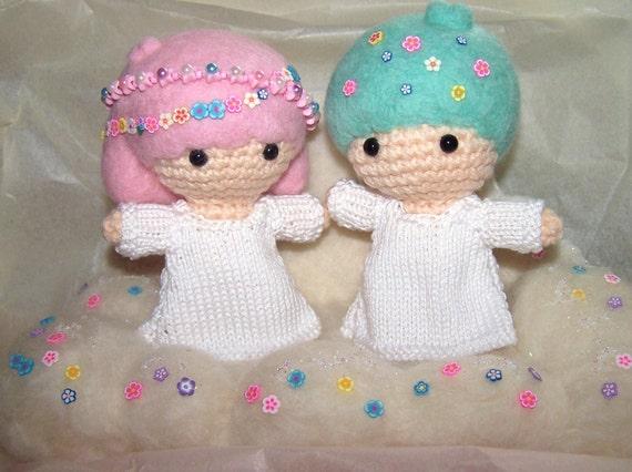 LITTLE TWIN STARS Sanrio Amigurumi Crochet by ...