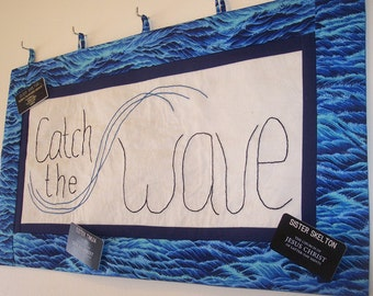 LDS Missionary Sign - Catch the Wave - PDF Pattern