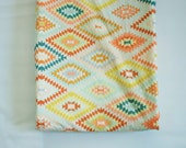 Changing Pad Cover - Kilim Serape Dream - Contoured Changing Pad Cover