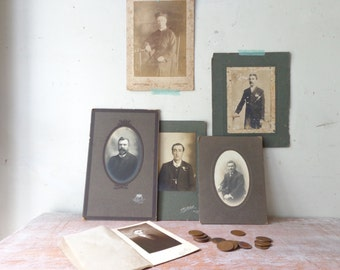 VIntage Collection of 6 Photographs - Gentlemen