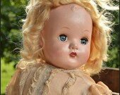 RESERVED for SUSAN /Madame Alexander Doll / Vintage Doll / Vintage Madame Alexander Little Genius Doll / Angelic Face and Original Dress