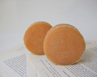 Pumpkin Lavender Shampoo, Limited Edition Solid Shampoo Bar, Sulfate Free Shampoo